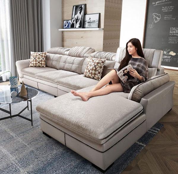 Mẫu sofa nỉ nổi bật Hải Phòng
