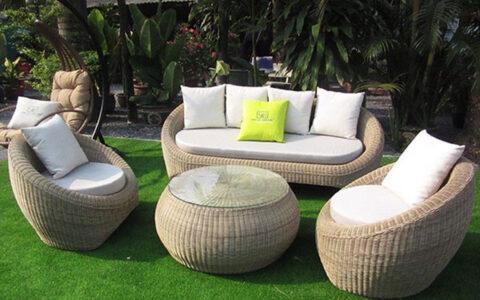 mẫu sofa sân vườn siêu đẹp
