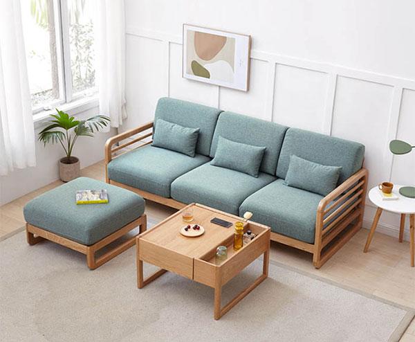 sofa gỗ hiện đại tại Hải Phòng