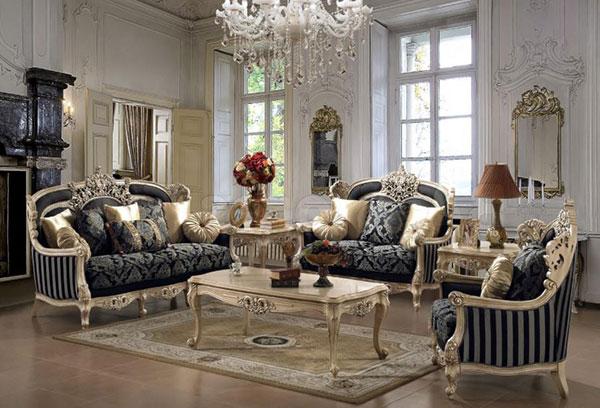 Mẫu ghế sofa cổ điển đẳng cấp