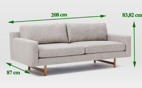 Tại sao nên biết kích thước của sofa trước khi mua?